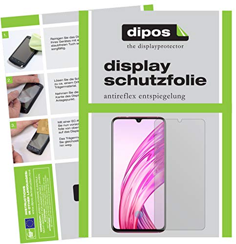 dipos I 6x Screen Protector matte compatible with Vivo X23 Protection Films from dipos