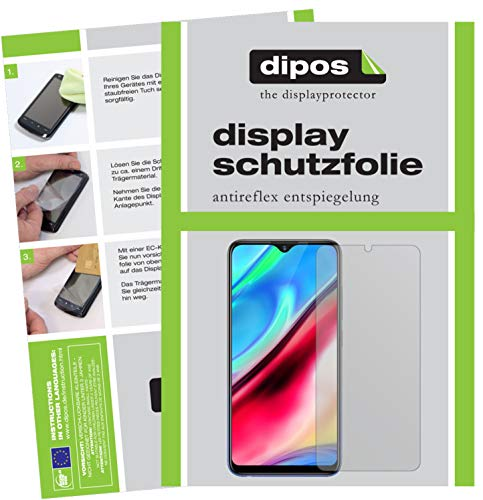dipos I 6x Screen Protector matte compatible with Vivo Y91 Protection Films from dipos