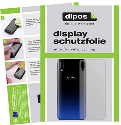 dipos I 6x Screen Protector matte compatible with Vivo Y91 back Protection Films from dipos