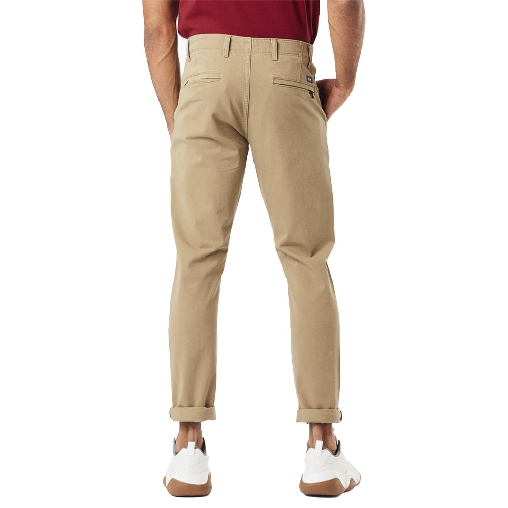 Dockers Alpha Khaki Smart 360 Flex Skinny 29 New British Khaki from Dockers
