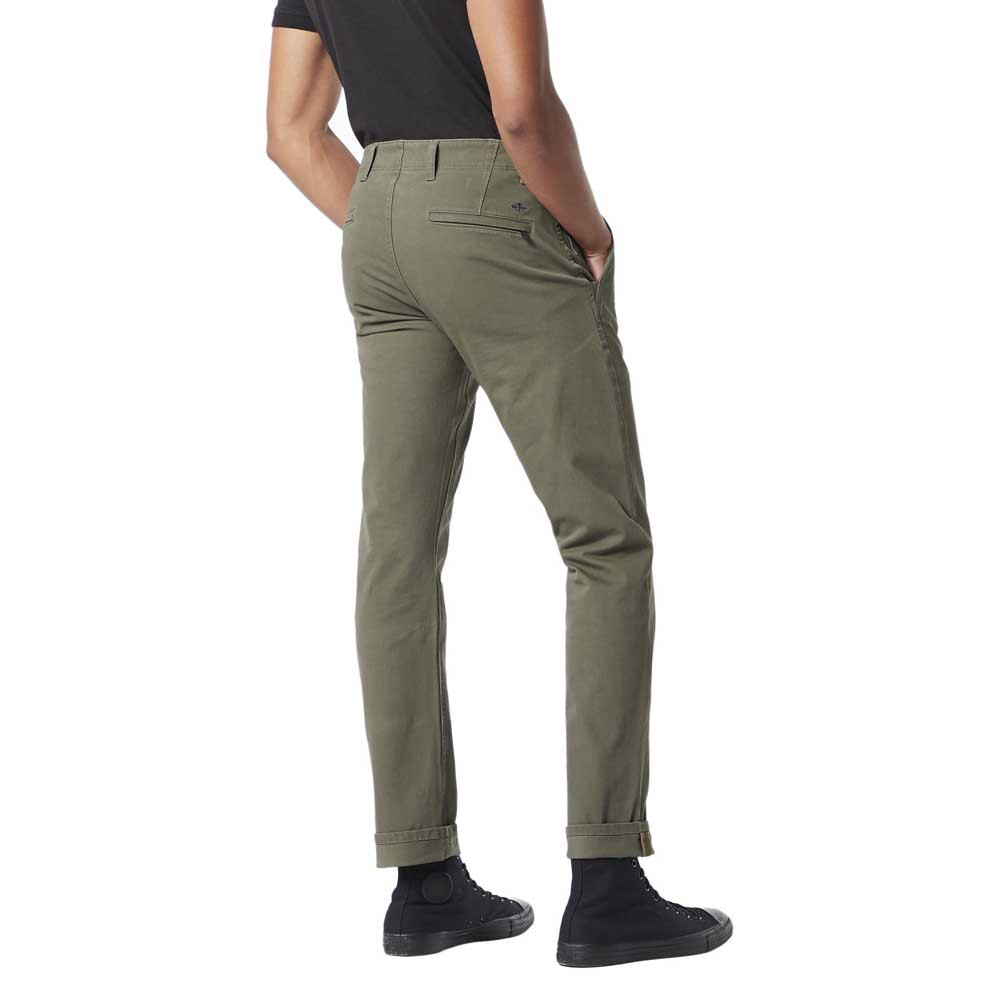 Dockers Alpha Khaki 360 Slim Tapered 34 Dockers Olive + from Dockers