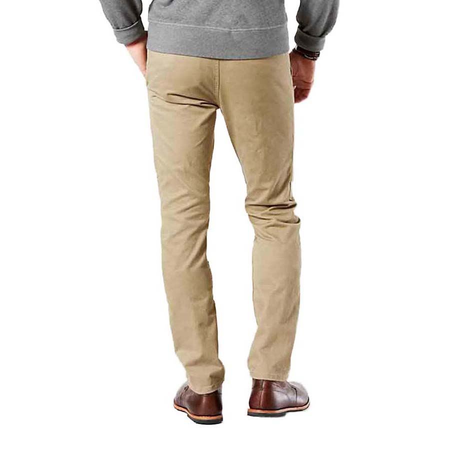 Dockers Alpha Khaki Skinny Tapered 34 New British Khaki from Dockers