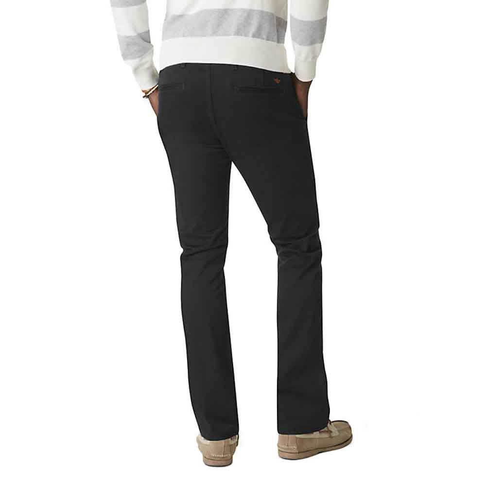 Dockers Alpha Khaki Skinny Tapered 40 Stretch Twill Black from Dockers