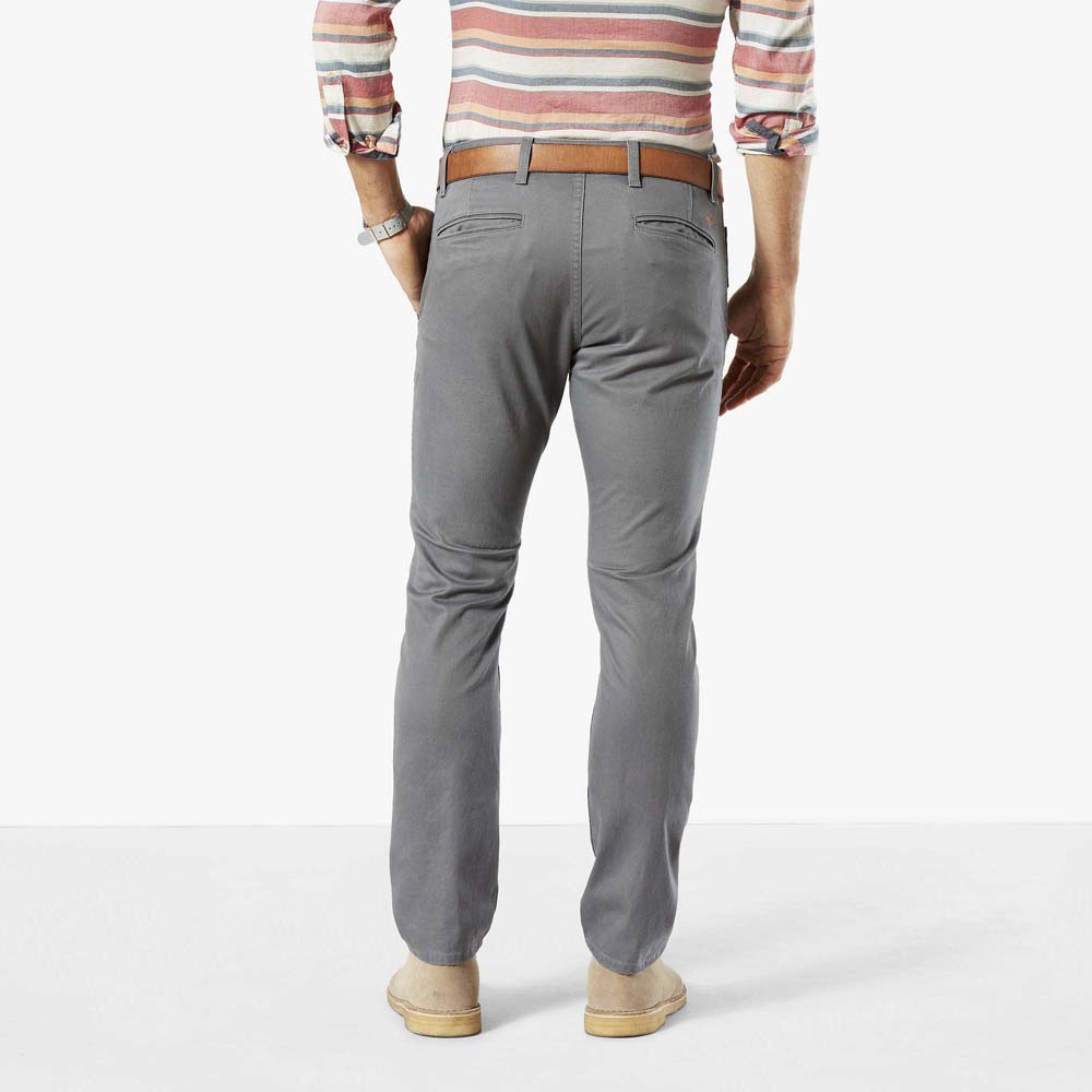Dockers Alpha Khaki Skinny Tapered 34 Burma Grey from Dockers