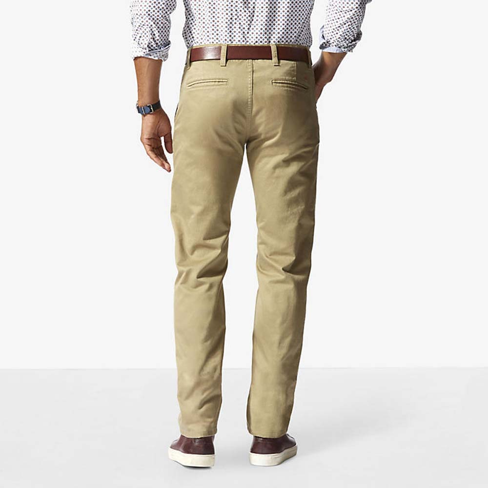 Dockers Alpha Khaki Slim Tapered 38 Stretch Twill New British Khaki from Dockers