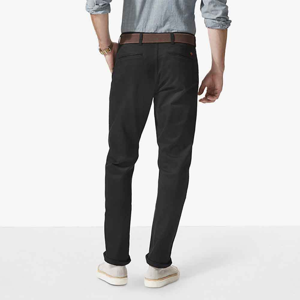 Dockers Alpha Khaki Slim Tapered 36 Stretch Twill Black from Dockers