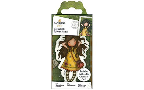 Docrafts GOR 907142 Santoro's Gorjuss Collectable Rubber Stamp - No. 43 Spring At Last from docrafts