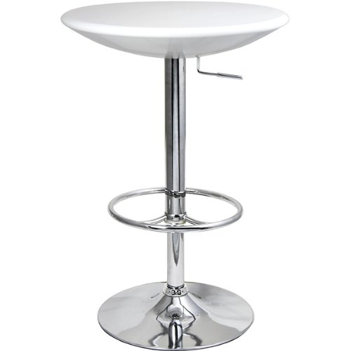 Podium Table - White - Bar Table, Kitchen Table, Diner Table, Pedestal Table, Bistro Table from drinkstuff