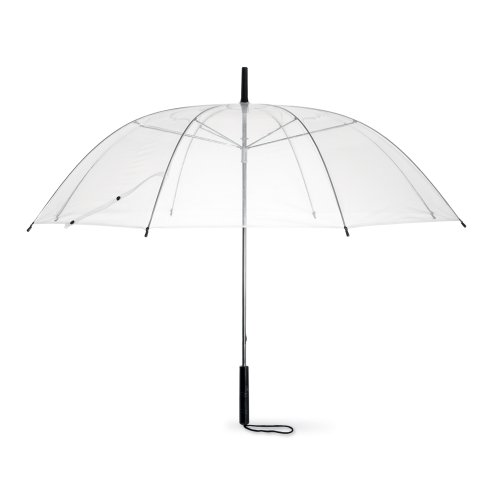"eBuyGB 38"" Manual Dome Folding Umbrella, 80 cm, Transparent from eBuyGB"