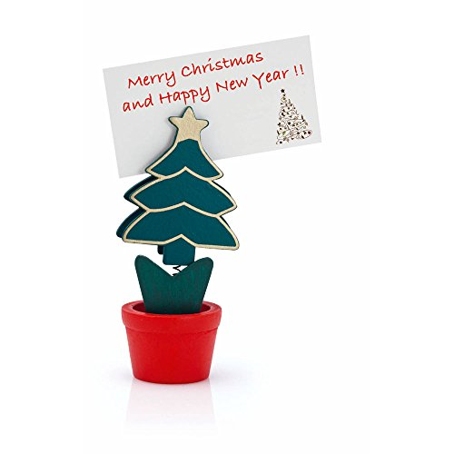 eBuyGB Christmas Tree In A Pot Card Name Holder from eBuyGB
