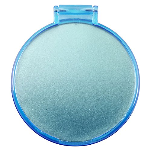 eBuyGB Compact Cosmetic Handbag Folding Pocket Vanity Mirror Toiletry Bag, Blue from eBuyGB