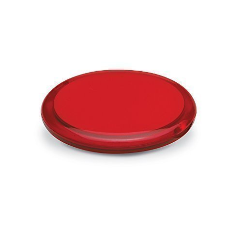eBuyGB Pack of 10 Ladies Handbag Cosmetic Double Sided Magnifying Compact Vanity Make Up Mirror (Red) from eBuyGB