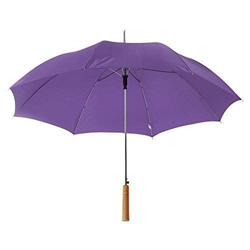 "eBuyGB Large Wedding / Photographer Parasol Folding Umbrella, 41.5"" (Purple) from eBuyGB"