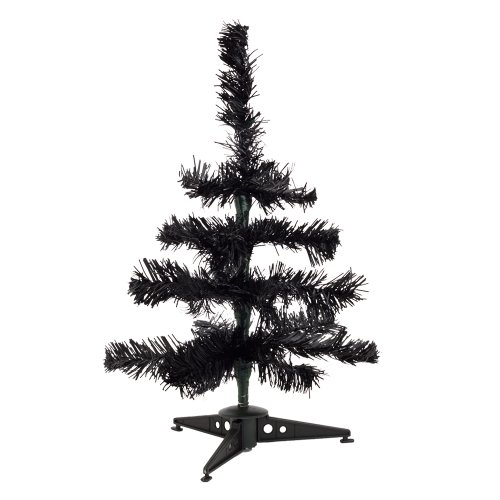 eBuyGB Mini Artificial Christmas Tree, Black from eBuyGB