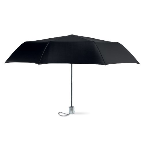 eBuyGB Mini Folding Compact with Pouch, Manual Opening Stick Umbrella, 94 cm, Black from eBuyGB