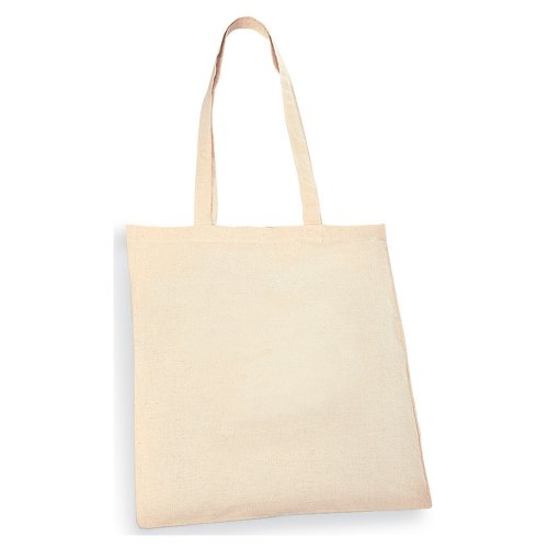 eBuyGB Pack of 10 Natural Cotton Shopping Tote Bags - Shoppers from eBuyGB