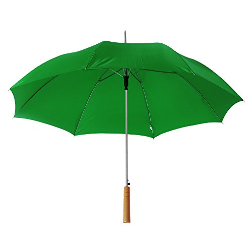 "eBuyGB Pack of 6 Large Wedding / Photographer Parasol Folding Umbrella, 41.5"" (Green) from eBuyGB"