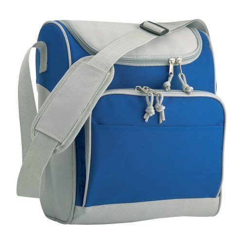 eBuyGB Picnic Sandwich Insulated Cooler Bag, Polyester, Dark Blue, 40.01 x 23.01 x 8.99 cm from eBuyGB