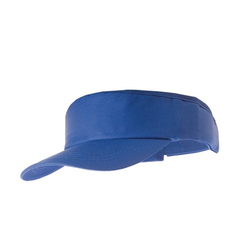 eBuyGB Adult Sun Visor - Unisex Sun Summer Sports Shade Cap Hat (Blue) from eBuyGB