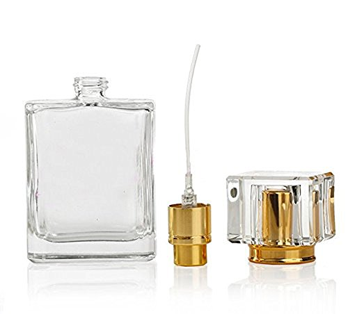 1 X 50ml Refillable Clear Glass Luxury Spray Perfume Bottle Empty Atomizer Bottle from erioctry
