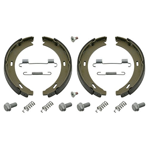 febi bilstein 02100 Brake Shoe Set for parking brake, with additional parts, Pack of 2 from febi bilstein