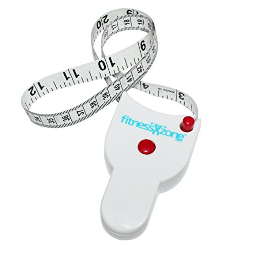 fitnessXzone Tape measure, Anatomical shape for body measurement from fitnessXzone