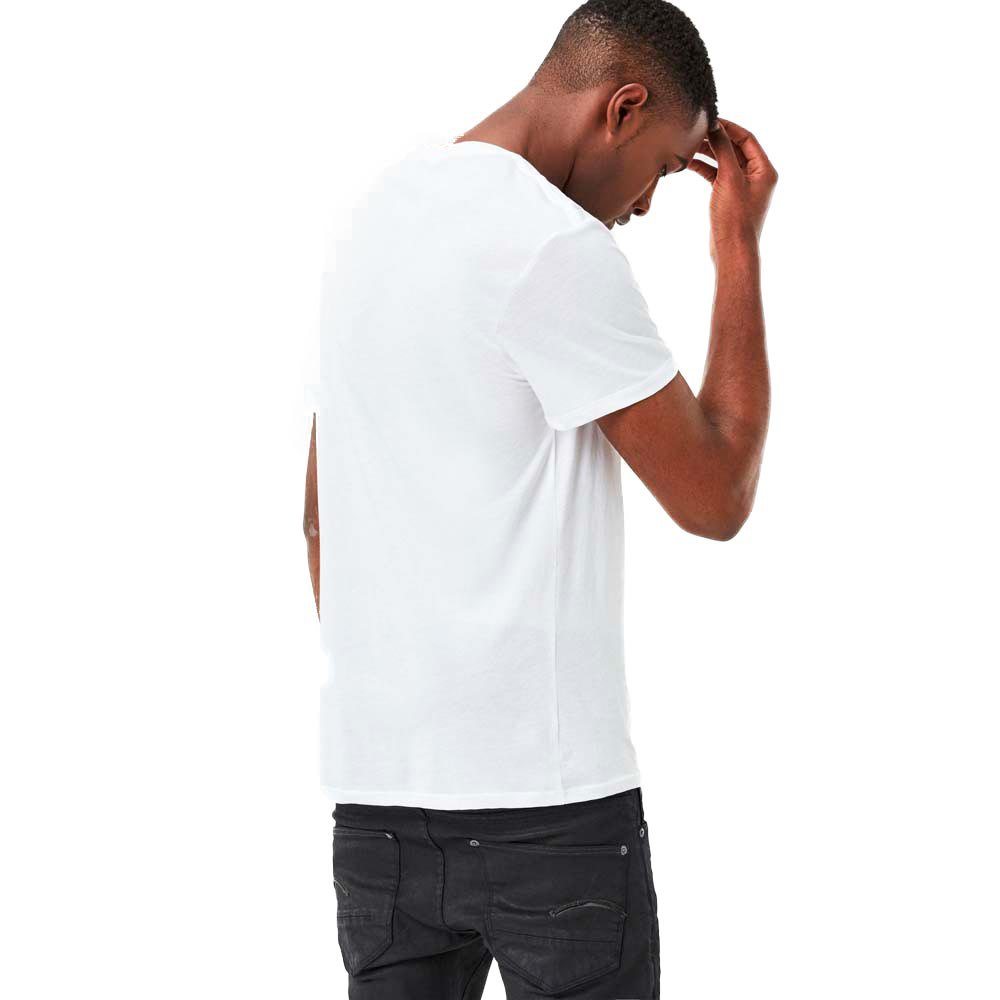 T-shirts Gstar Base Heather Ribbed V Neck S/s 2-pack Ny Jersey from gstar