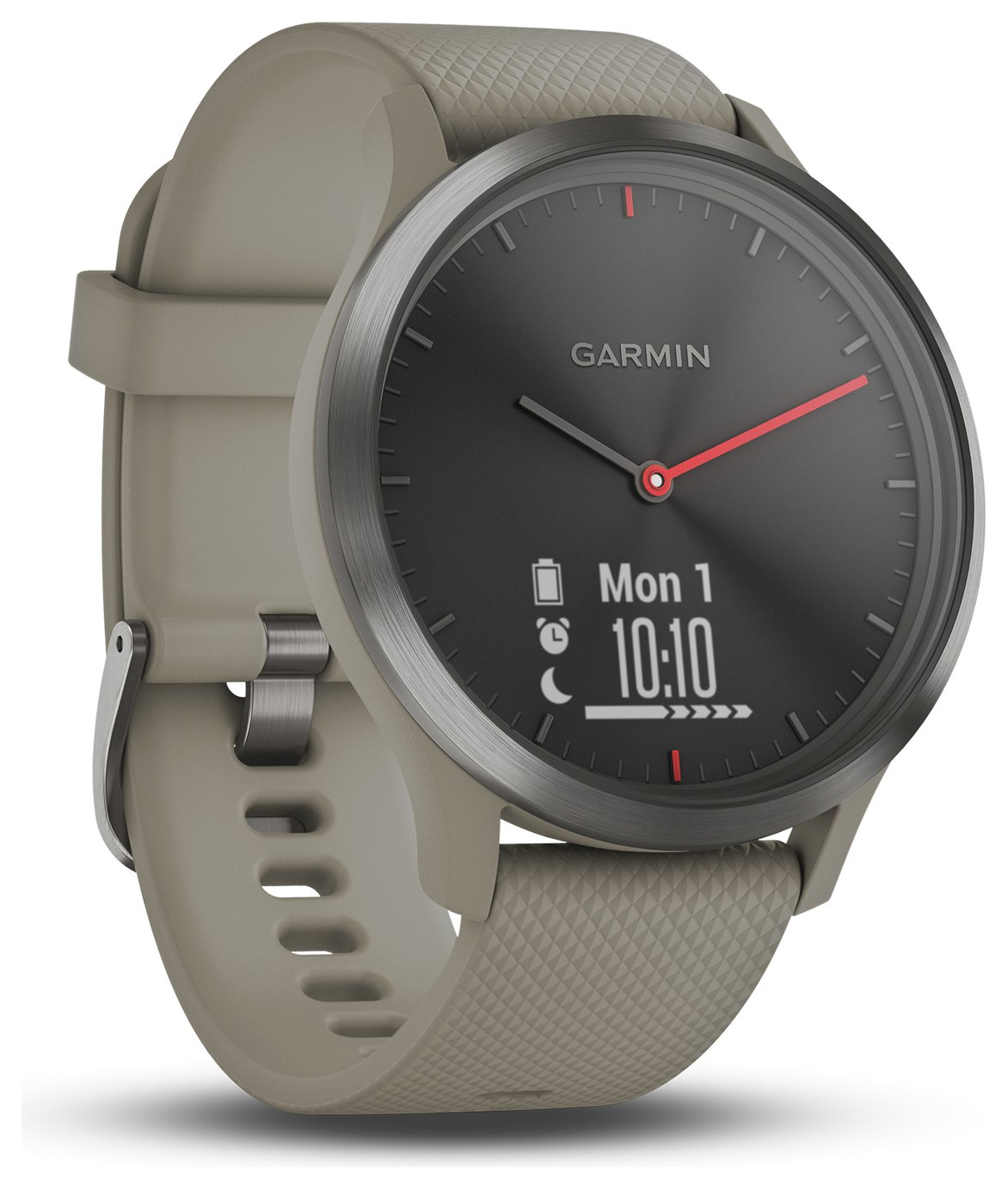 Garmin Vivomove HR Smart Watch - Black and Sandstone from garmin