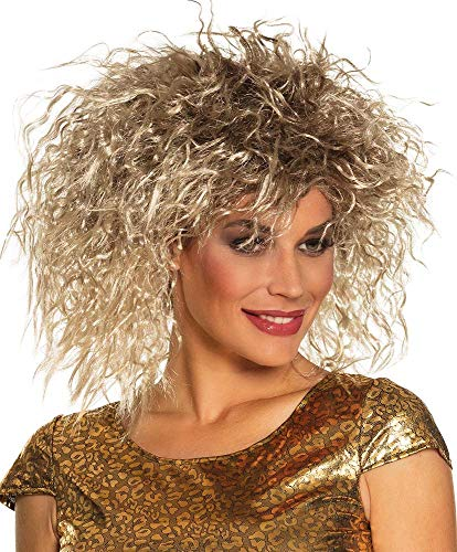 Boland 86374 Tina Turner Style Rock Queen Wig from Boland