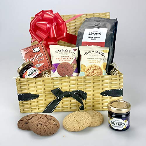 """Afternoon Tea Treats"" Hamper Gift Box Coffee - Great for All Occasions to Include :- Birthday Thank You New Home from gifthamperz"