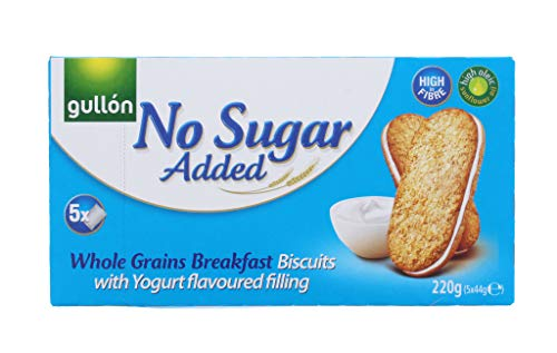 2 x GULLON No Added Sugar Whole Grains Breakfast Biscuits 220g from gullon