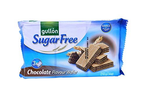 Gullon SUGAR FREE Chocolate Flavour Wafers 210g from gullon