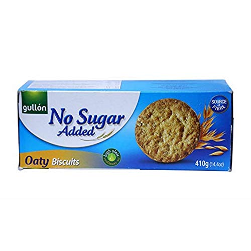 Gullon NO SUGAR ADDED Oaty Biscuits 410g (3 pack) from gullon