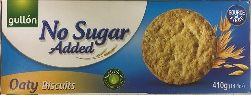 Gullon NO SUGAR ADDED Oaty Biscuits 410g (6 pack) from gullon