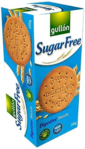 Gullon SUGAR FREE Digestive Biscuits 250g (9 pack) 250G from gullon