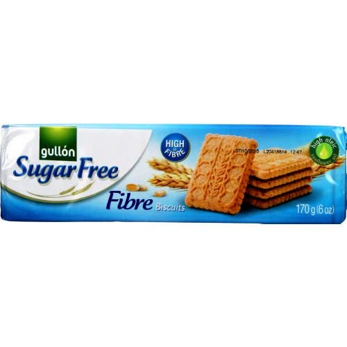 Gullon SUGAR FREE Fibre Biscuits 170g (16 pack) from gullon