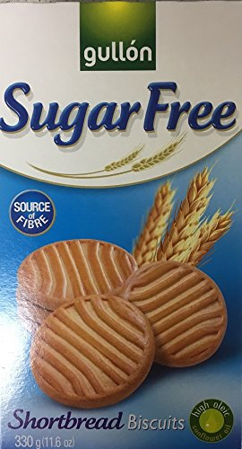 Gullon SUGAR FREE Shortbread Biscuits 330g (3 pack) from gullon