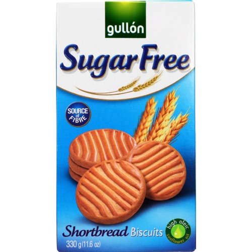 Gullon SUGAR FREE Shortbread Biscuits 330g (6 pack) from gullon