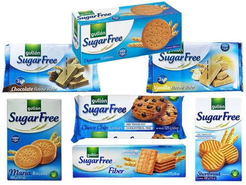 Gullon Sugar Free Biscuits Mixed Selection Pack x 7 packs from gullon