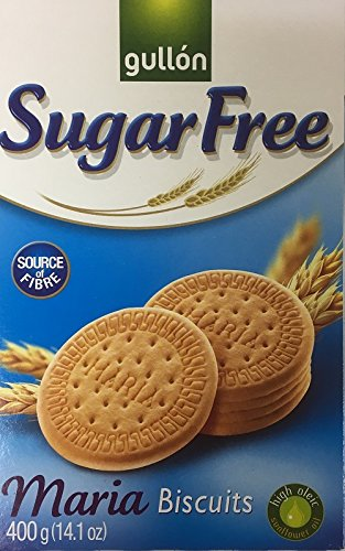 Gullon SUGAR FREE Maria Biscuits 400g (10 pack) from gullon
