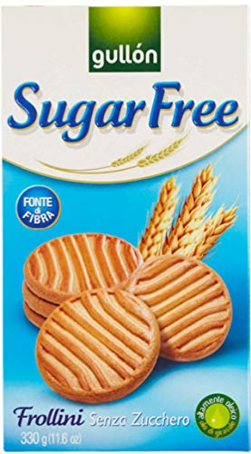 Gullon Sugar Free Shortbread Biscuits 10 x 330g Packs from gullon