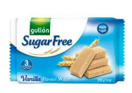 Gullon Sugar Free Vanilla Flavour Wafer Biscuits 10 x 210g Packs from gullon