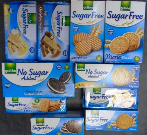 Gullon Variety Pack 1 (10 different biscuits) Sugar Free/No Added Sugar from gullon