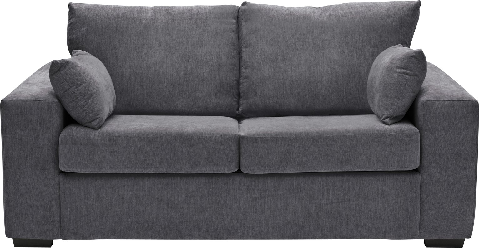 Argos Home -  - Eton - 2 Seater Fabric - Sofa Bed - Charcoal from Argos Home