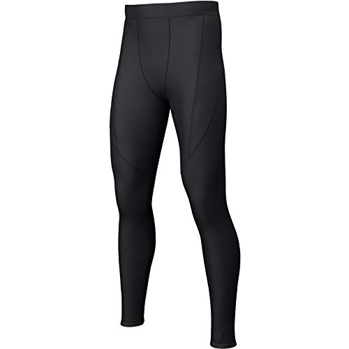 i-sports Base Layer Tights Junior - Unisex Sports Compression Leggings/Pants - Black, Size LY from i-sports