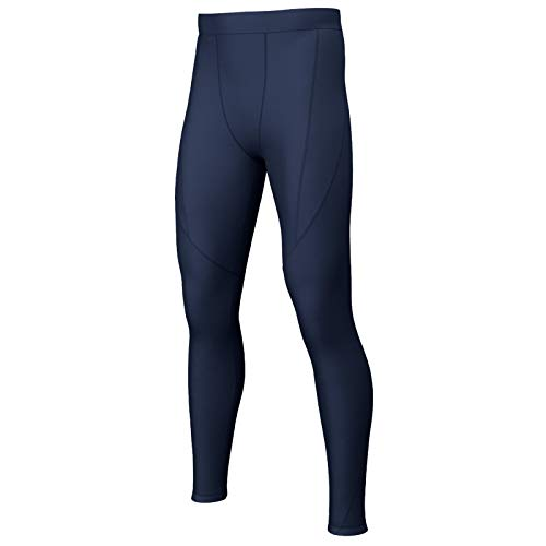 i-sports Base Layer Tights Junior - Unisex Sports Compression Leggings/Pants - Navy, Size XLY from i-sports