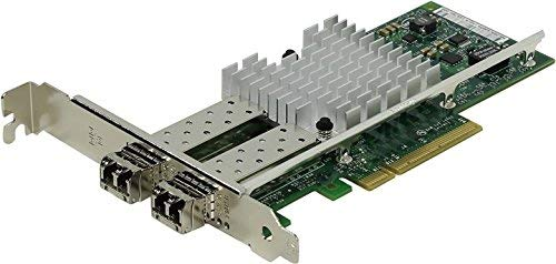 i10Gb X520-SR2 Ethernet Converged Dual Port Network Adapter X520-SR2, 2 x 10GbBase SR x Ports with Transceiver Modules fitted, PCIe v2.0 Supplied with Standard and Low Profile brackets 5 Year warranty from i10Gb