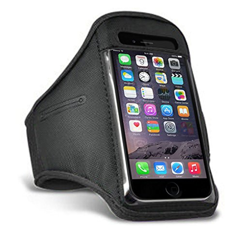 iPhone SE 5 5S Black Armband Case Cover for Running Sports GYM Workout from iChoose Limited