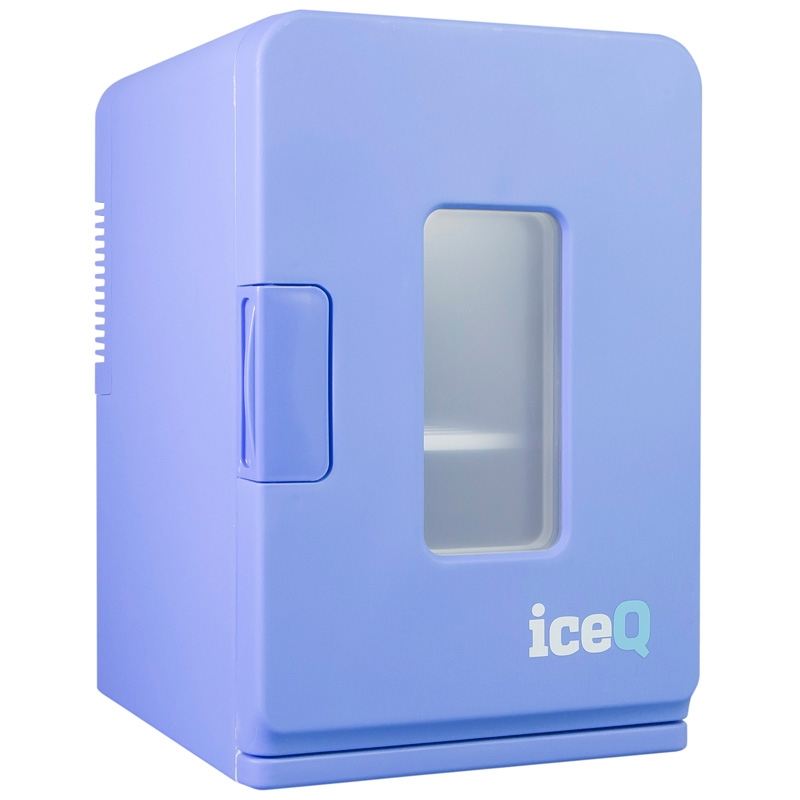 iceQ 15 Litre Deluxe Portable Mini Fridge With Window - Blue from iceQ