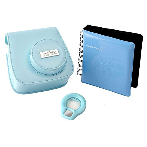 Instax 70100128728 mini 8/9 accessory kit, Blue from instax